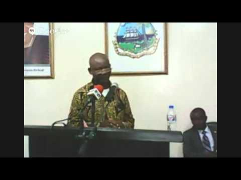 MICAT Regular Press Briefing With the Liberia National Fire Services & Ministry of Health