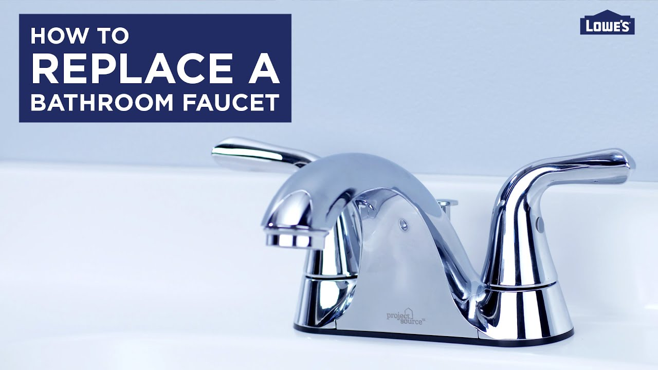 how to replace a bath faucet