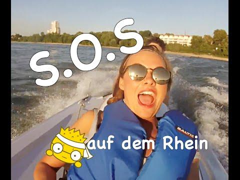 Fast das SPEEDBOOT auf dem Rhein GECRASHT!!! YVE´S WORLD