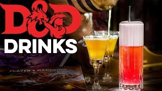 Dungeons & Dragons Drinks | How to Drink
