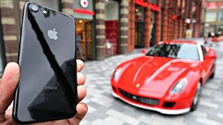 iPhone Collecting with a Ferrari