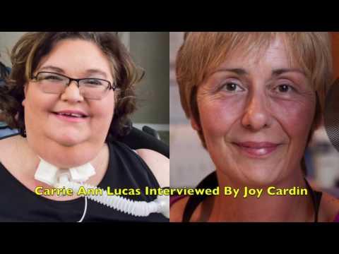 Carrie Ann Lucas interviewed by Wisconsin Public Radio's Joy Cardin