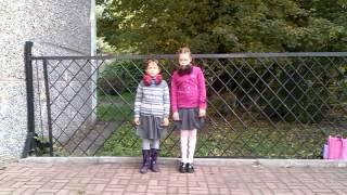 Даша и Вика,Волынка