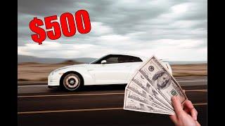Buying a $500 R35 GTR