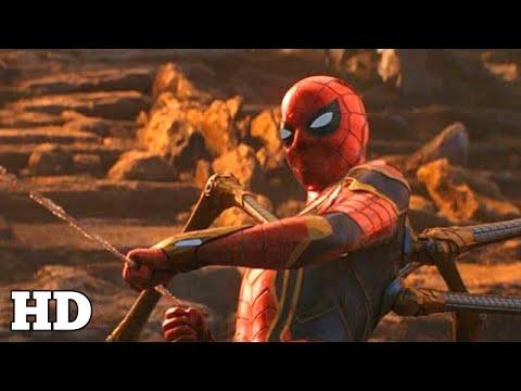 Spider Man Magic Trick Scene vs Thanos Titan | Avengers: Infinity War Movie 2018 HD