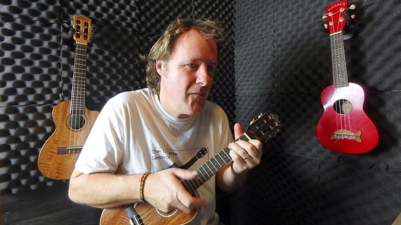 New Flamenco piece for intermediate ukulele players.