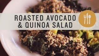 Roasted Avocado And Quinoa Salad