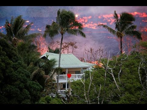 Kilauea eruption: Lava flows reaching Pacific