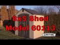 Lifetime Storage Shed 60113 8x5 With Window and Skylight
