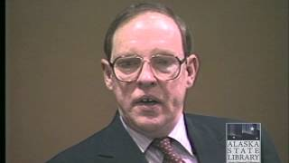 Court Trial Footage of Exxon Valdez Tanker Captain Joe Hazelwood Part 2 (ASL-AV25-33-2)