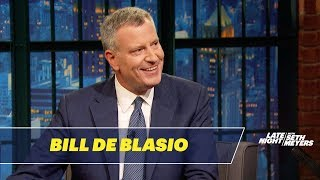 NYC Mayor Bill de Blasio on the Difficulties of Being a Red Sox Fan in New York