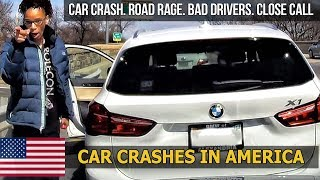 Car Crashes in America (USA) bad drivers, Road Rage 2018 # 23