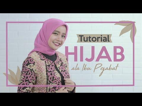 Inilah Cara Pakai Hijab Ala Pejabat Youtube