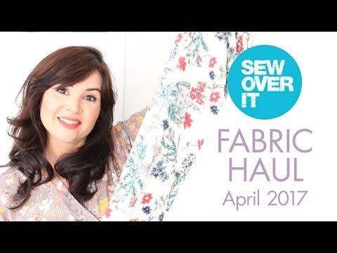 April 2017: Fabric Haul