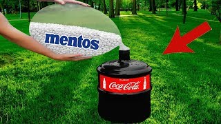 FUN EXPERIMENTS for KIDS: COCA-COLA and MENTOS
