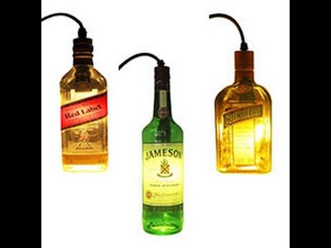 Bottle Pendant Lighting