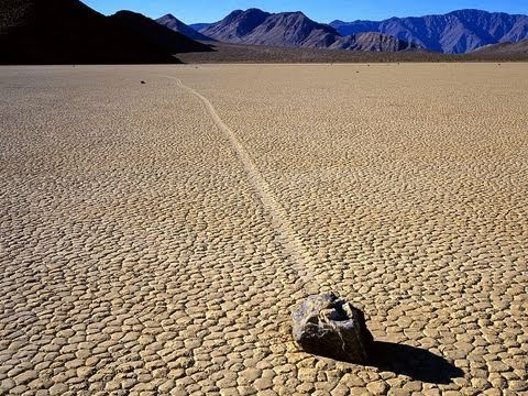 Unsolved Mysteries: The Sailing Stones Of Death Valley, California