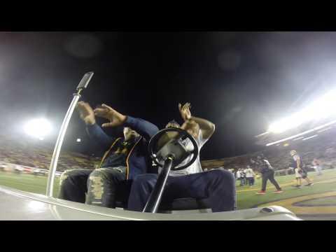 Cal Football: Marshawn Lynch Rides On Cart Again