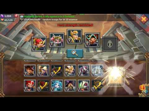Challenge Stage 1-1 F2P Players Lords Mobile
