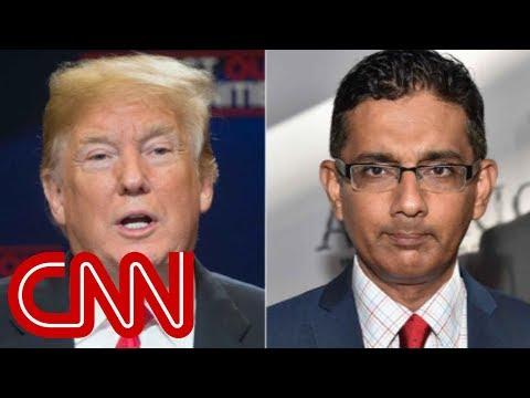 Trump announces plans to pardon Dinesh D'Souza