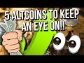 👀 5 ALTCOINS TO KEEP AN EYE ON WHEN CRYPTO MARKET RECOVERS!! 👀