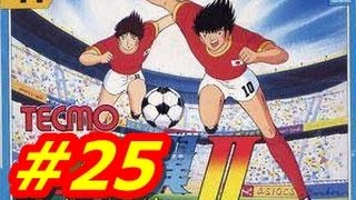 Captain Tsubasa 2 NES #25 Japan Vs N.Korea(English) HD
