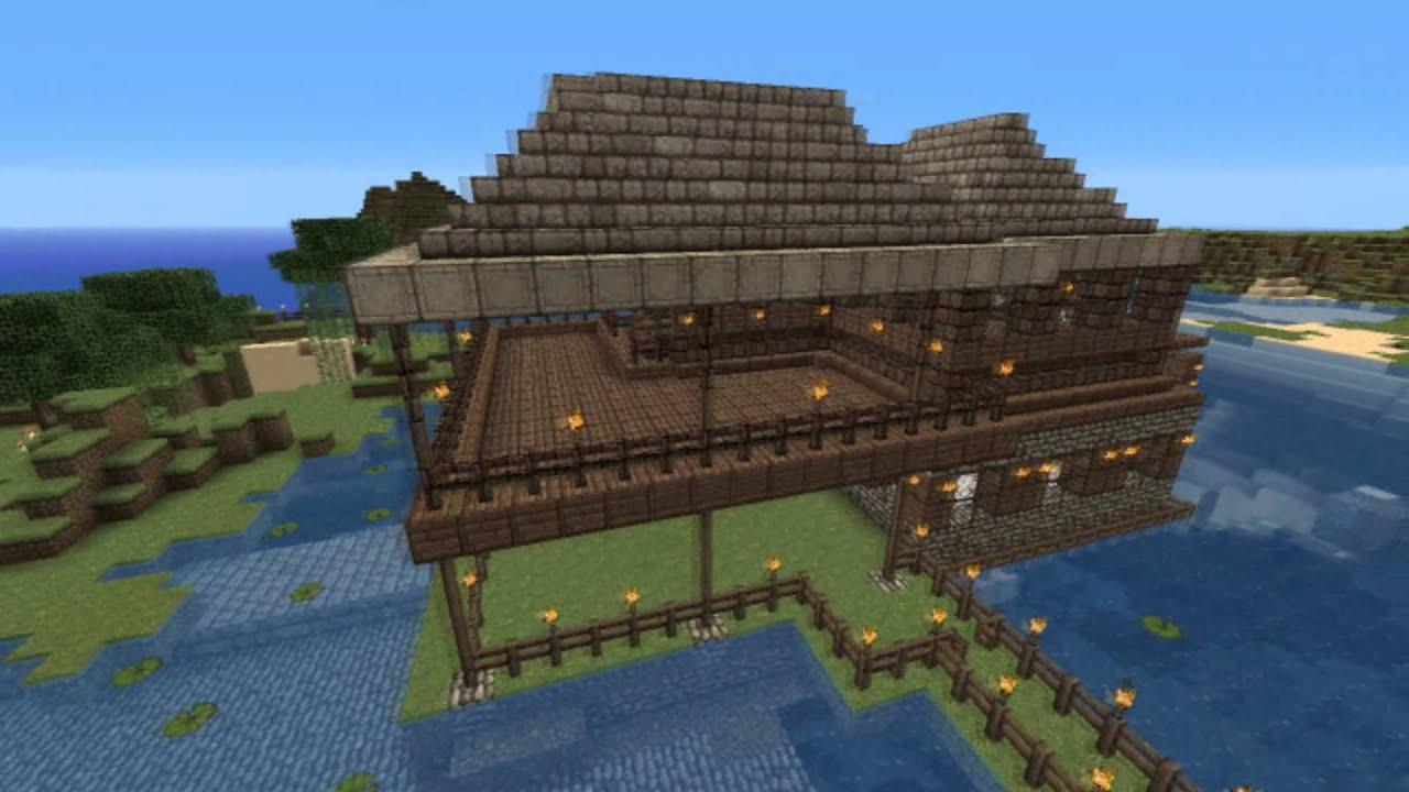 Minecraft: creative-mode buildings - YouTube