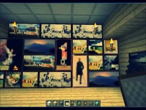 Norsk - UpdateNorway - Minecraft secret door -