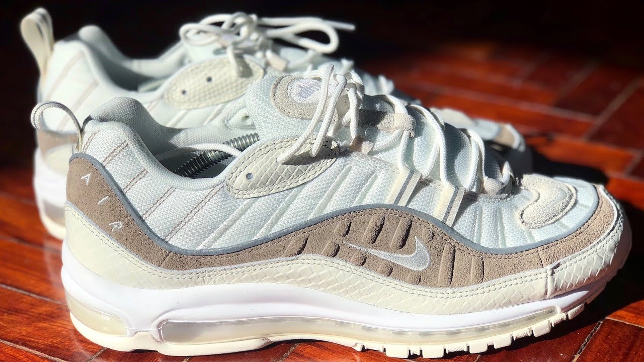 official photos 8a2f7 f08db Nike Air Max 98 Snakeskin Review   On-feet  Lux and Classy Air Max
