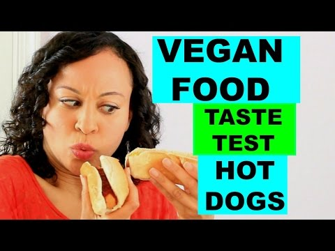 Vegan Food Taste Test: Hot Dogs