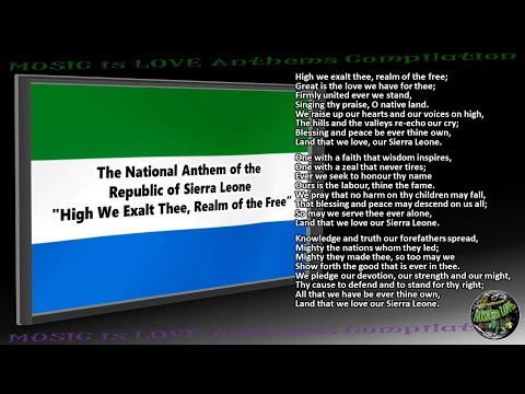 Sierra Leone National Anthem