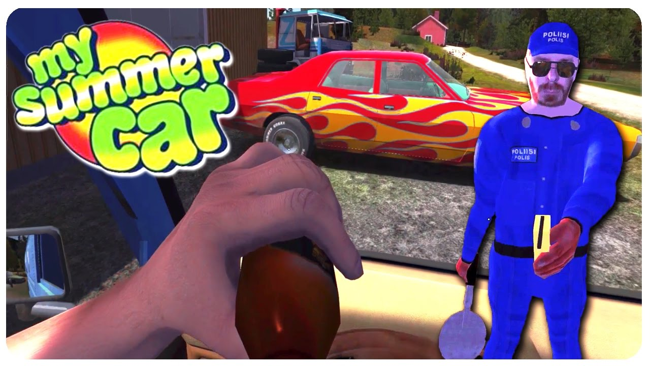 Stealing Muscle Car F Tha Police My Summer Car Funny