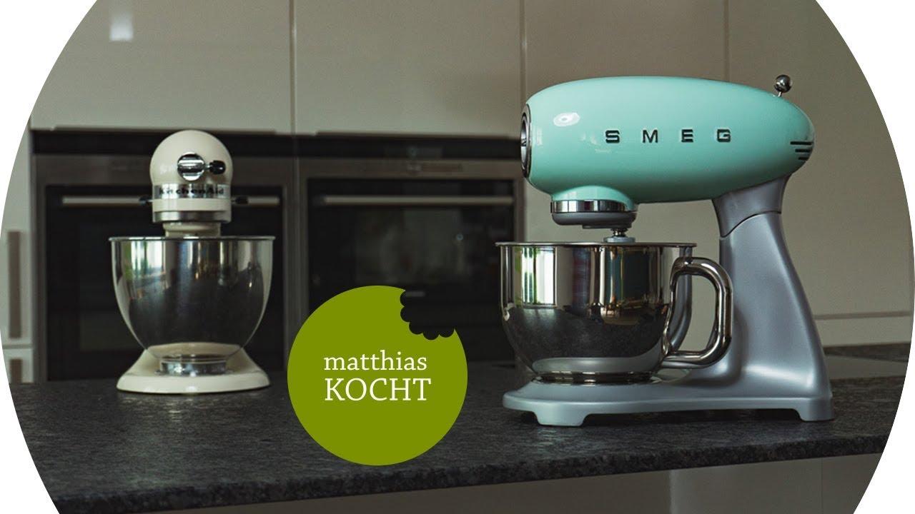 SMEG Küchenmaschine - der KitchenAid Killer im Test - YouTube