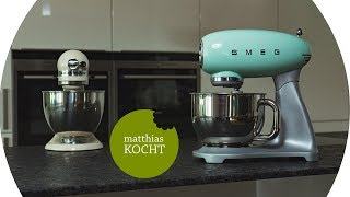 SMEG Küchenmaschine - der KitchenAid Killer im Test