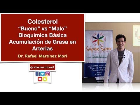 Colesterol, HDL, LDL, Triglicéridos