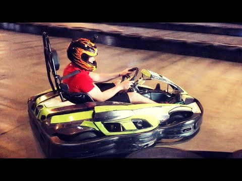 GO KARTS FUN - SB RACEWAY REVIEW - FERRARI WIN IN MONZA - SAN BERNARDINO CALIFORNIA - SEPTEMBER 2019