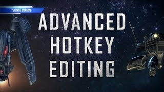 Starcraft 2:  Advanced Hotkey Editing