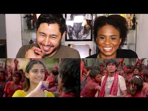 RAANJHANAA Trailer Reaction by Jaby Koay & Cortney Wright!