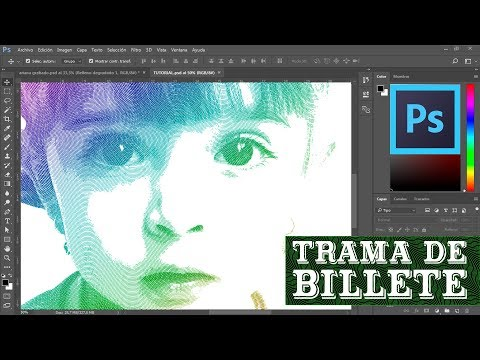 Efecto trama de billete con Photoshop CC | Koradi Productions