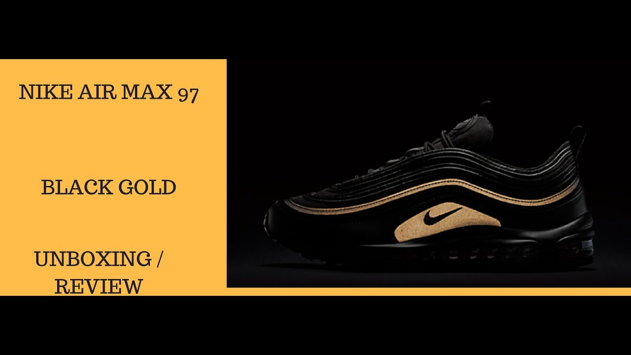 air max 97 black gold
