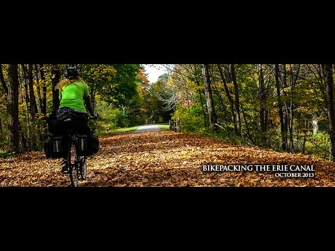 Cycling the Erie Canalway with BikePacking.US - Bicycle Touring