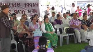 Paying homage to senior Citizens  2016 sydney Thingyan  09 04 2016