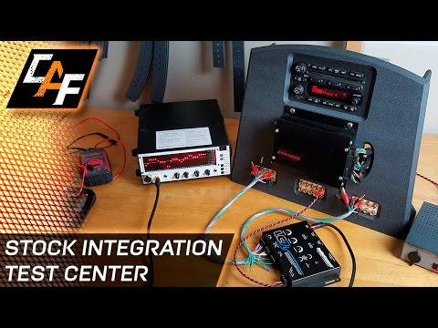 Why you NEED Factory Radio Integration - Building the OEM Test Center - CarAudioFabrication