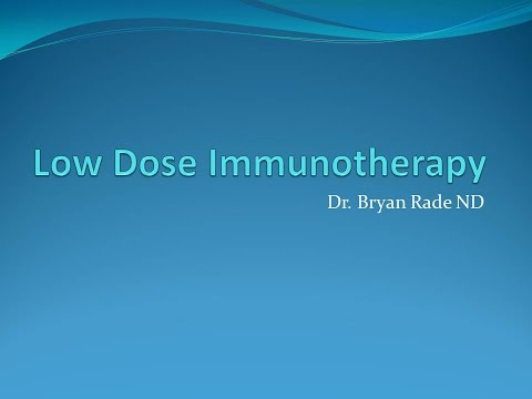 Low Dose Immunotherapy for Chronic Lyme and Coinfections
