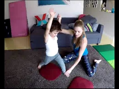 Cartwheel For Kids At Home Video!  Great Way For Beginners To Workout And Learn How To Cartwheel!