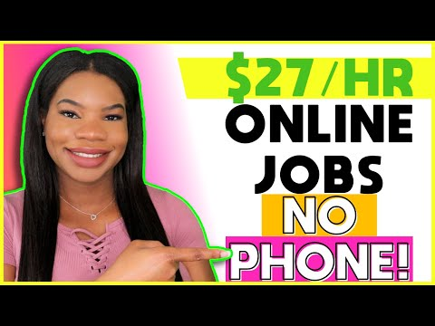 💻 $27 HOURLY Non-Phone Online Work-From-Home Job Now Hiring!