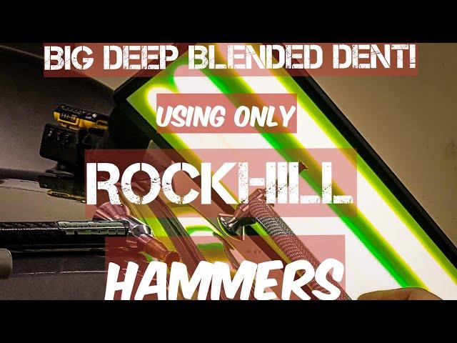 PDR Blending hammer | Bryce Rockhill | Carbon tech | biggest blend on YouTube