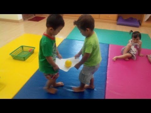 Fun Balance Game for Kindergarten kids | Balancing Games for Kids | CHILD DEVELOPMENT