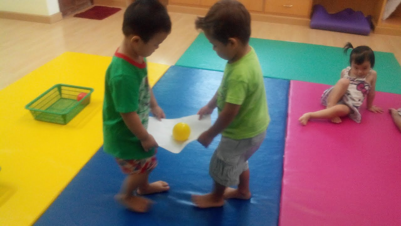 balance game preschool kids