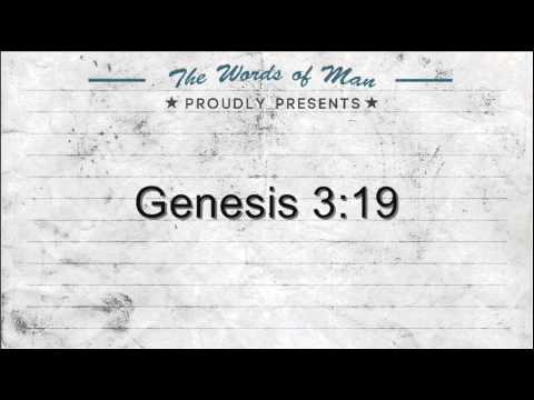 The Holy Bible: Genesis 3:19 - YouTube